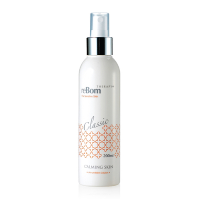 Xit can bang va lam diu da mun, man cam reBom Therapy Classic Calming Skin 200ml