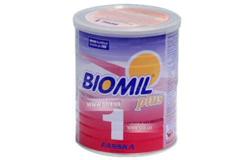 Sua Biomil Plus so 1 800g 0-6 thang