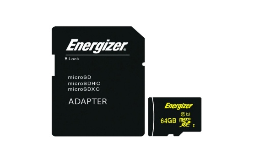The Nho MicroSDXC Energizer 64GB