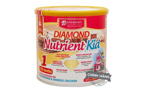 Sua Diamond Nutrient kid so 1 700g 6-36 thang