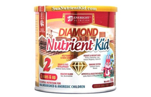 Sua Diamond Nutrient Kid so 2 700g 3 tuoi tro len