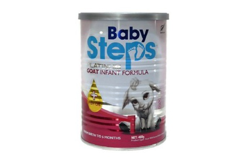 Sua Baby Steps 1 Goat Infant Formula 400g 0-6 thang