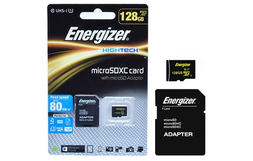 The Nho MicroSDXC Energizer 128GB