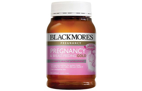 Vitamin tong hop cho ba bau Blackmore Pregnancy & Breast Feeding Gold