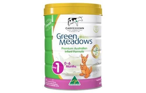 Sua Green Meadows so 1 900g (0-6 thang)
