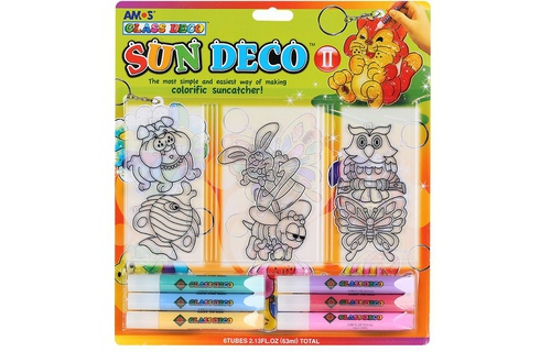 But ve Amos Glass Deco Sun Deco