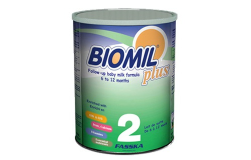 Sua BioMil Plus so 2 400g 6-12 thang