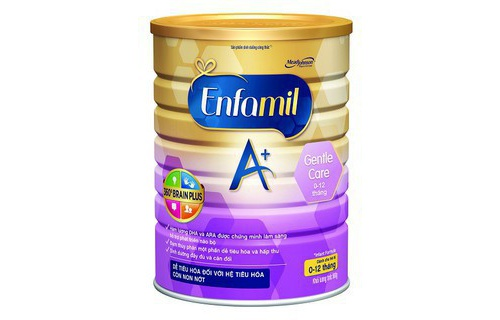 Sua Enfamil A+ Gentle Care 900g 0-12 thang