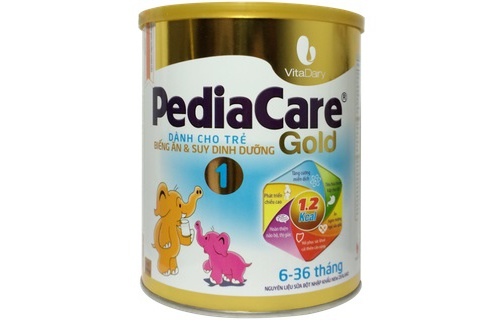 Sua Pedia Care Gold 1 (900g) 6-9 thang