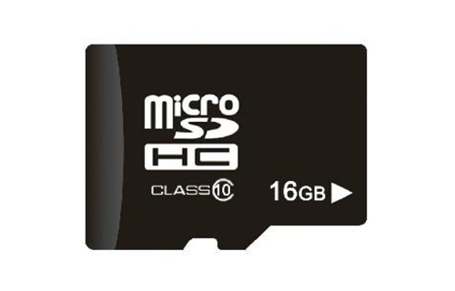 The nho MICRO Memory Card SD 16GB