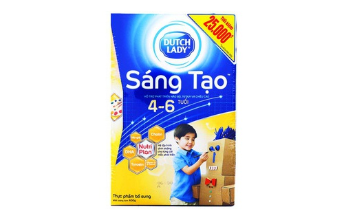 Sua Dutch Lady Sang Tao 400G 4-6 Tuoi