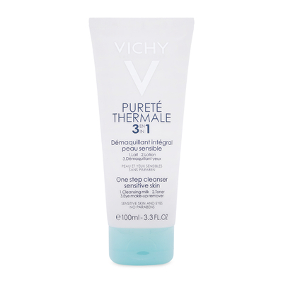 Sua rua mat tay trang 3 tac dung Vichy Purete Thermal 3 In 1 One Step Cleanser 100ml